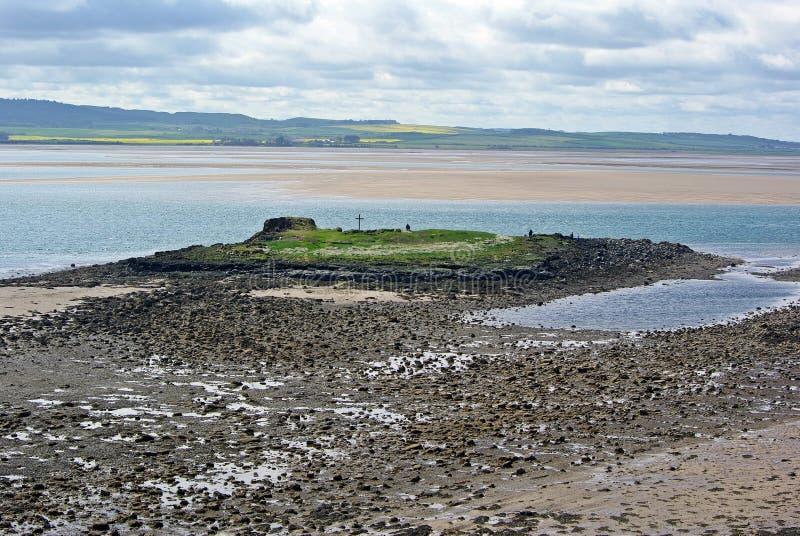 Olhando a ilha dos cuthberts do St imagem de stock royalty free