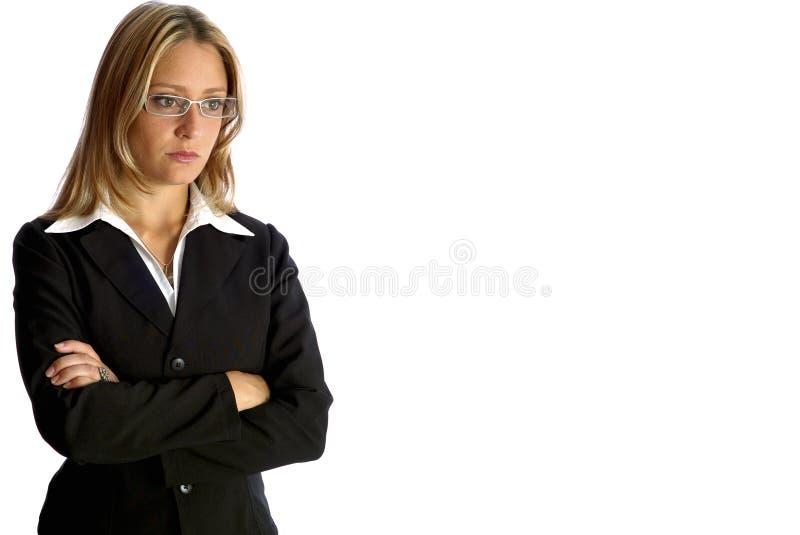 Olhar atrativo da mulher foto de stock royalty free