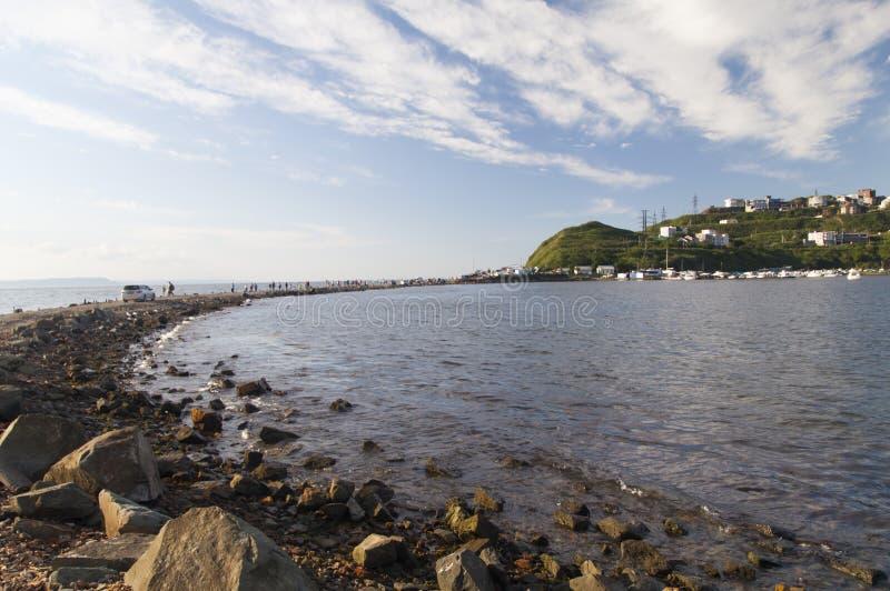 Olhar bonito do mar fotografia de stock