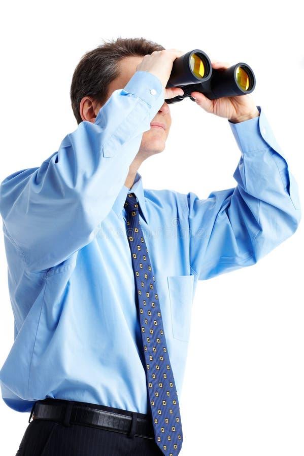 Olhar do negócio imagem de stock