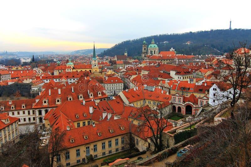 Olhar fixo Mesto, Praga, República Checa fotografia de stock royalty free