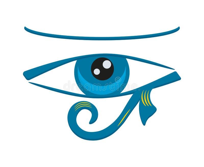 Olho de Horus ilustração do vetor