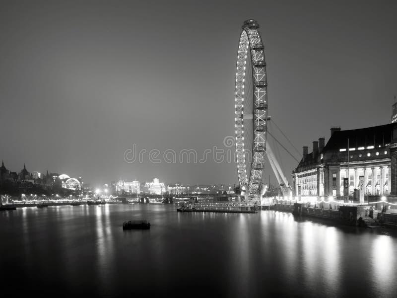 Olho de Londres foto de stock royalty free