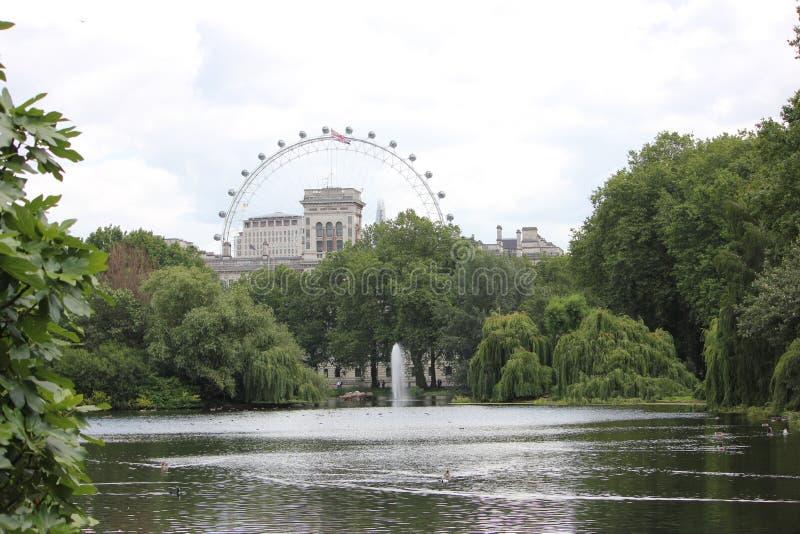 Olho de Londres fotos de stock