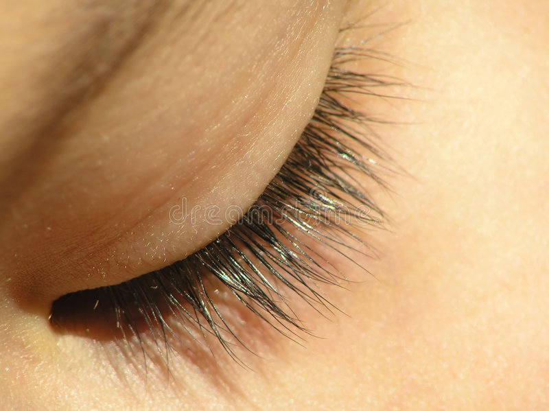Download Olho fechado foto de stock. Imagem de febre, cabeça, face - 540942