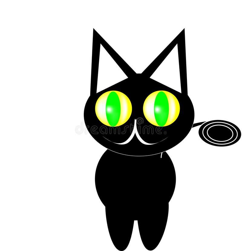 Olho grande do gato fotos de stock