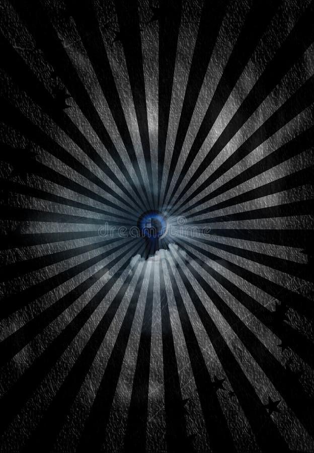 Olho Mystical ilustração stock