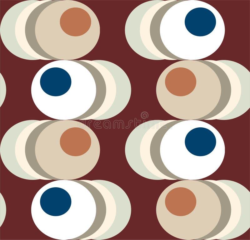 Olhos ilustração stock