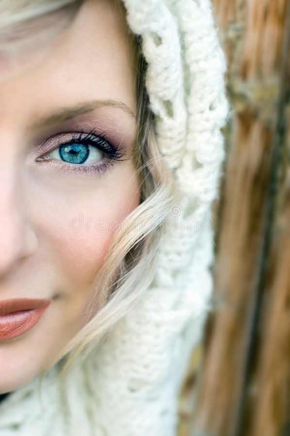 Olhos azuis imagens de stock royalty free