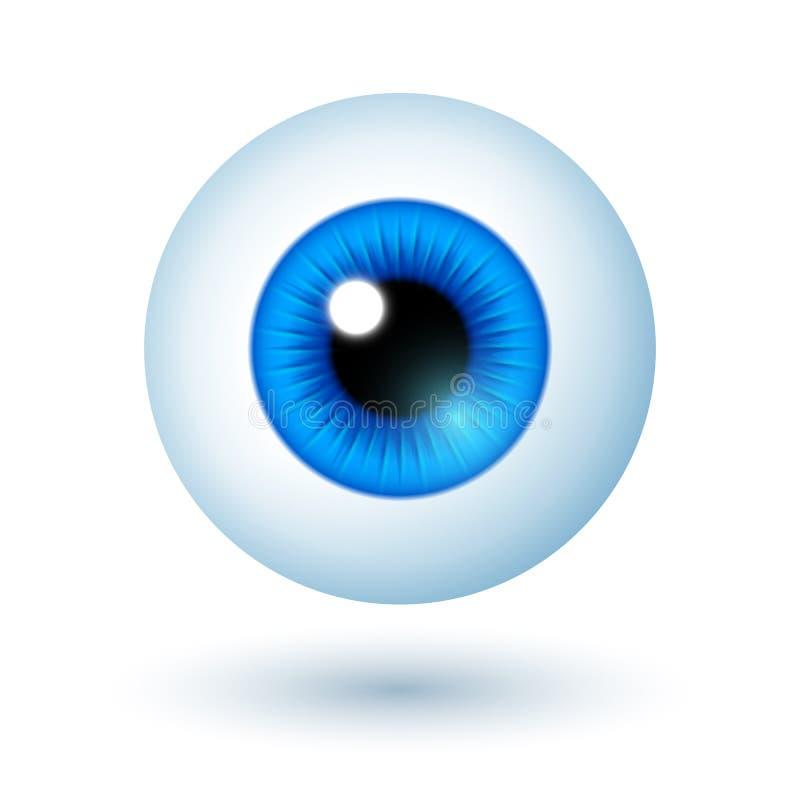 Olhos Azuis Dos Desenhos Animados Ilustracao Do Vetor Ilustracao De Animados Azuis 49695144