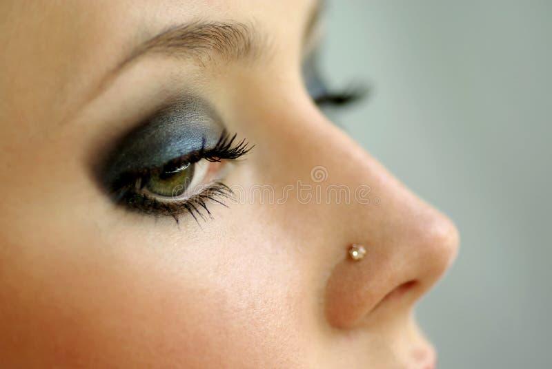 Olhos bonitos imagens de stock