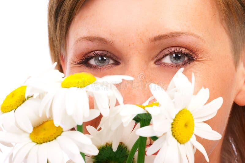 Olhos da mulher fotografia de stock royalty free