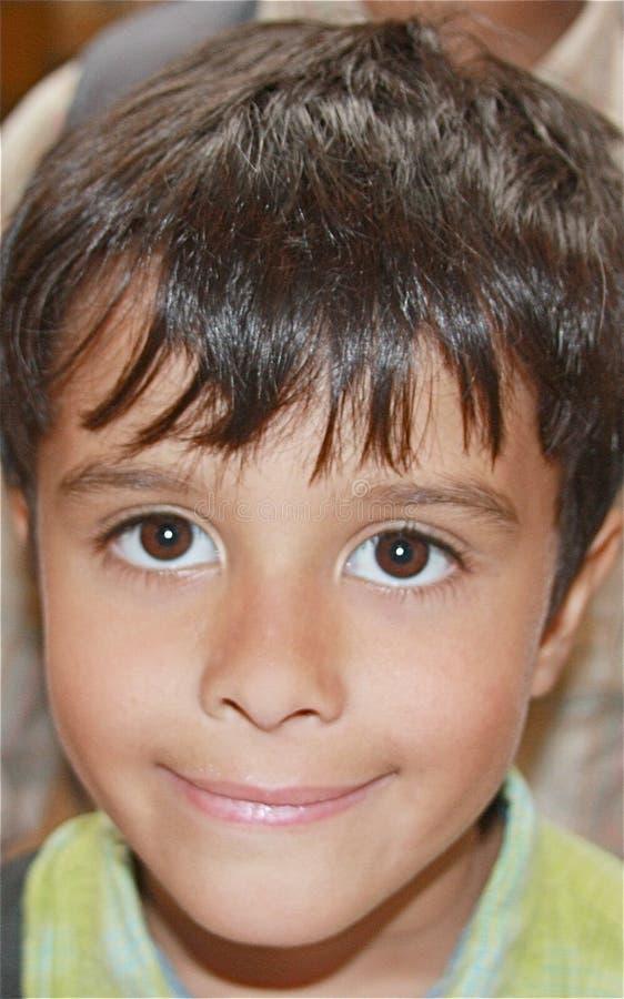 Olhos de sorriso imagem de stock royalty free