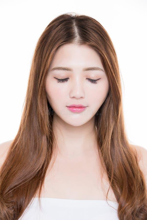 Olhos do fim da mulher da beleza imagens de stock royalty free