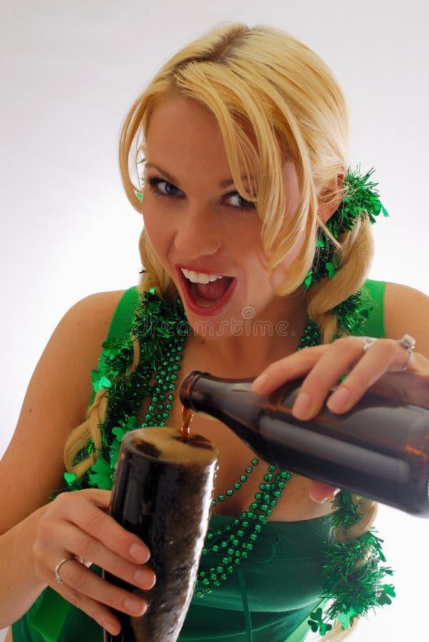 Olhos irlandeses! fotos de stock