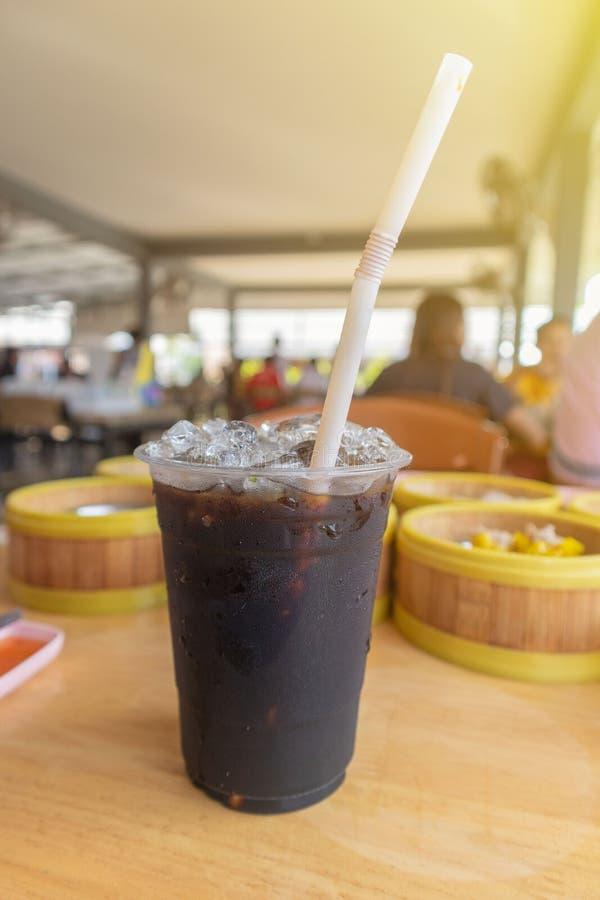 Oliang ou style thaïlandais a glacé le café noir photo libre de droits