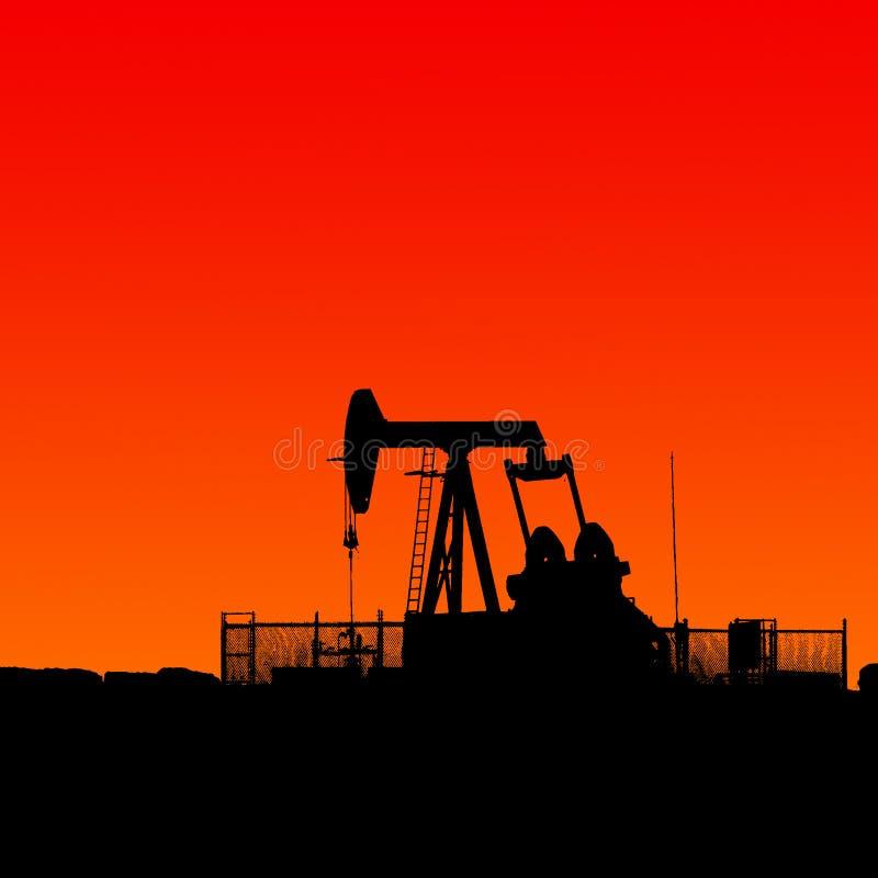 Olie en gas royalty-vrije stock afbeelding