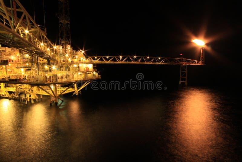 Olie en Installatie royalty-vrije stock fotografie