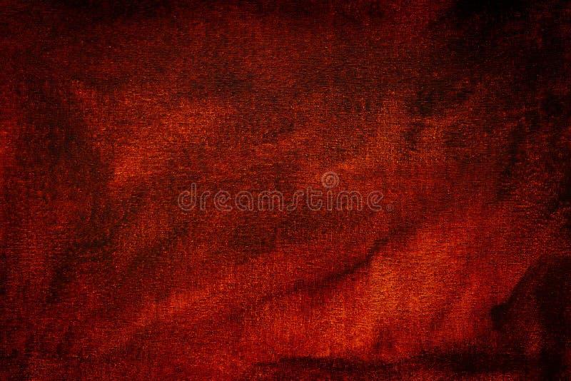Oliekleur, rode oranje achtergrond stock fotografie