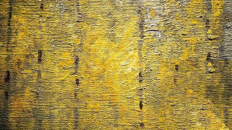 Olieverfschilderij abstracte penseelstreken royalty-vrije stock foto