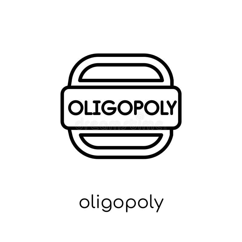 Oligopoly ikona  ilustracja wektor