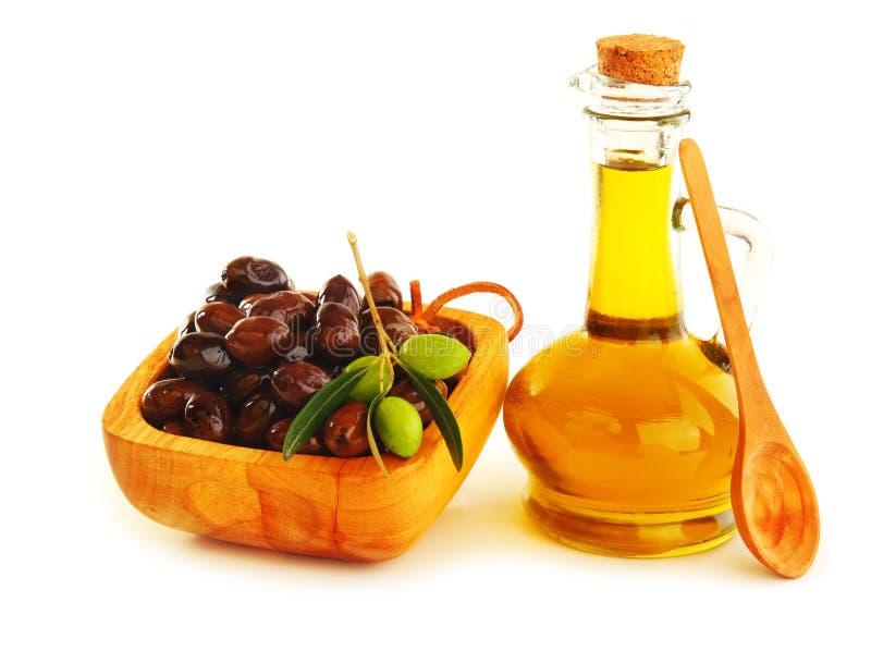 Olijfolie stock afbeeldingen