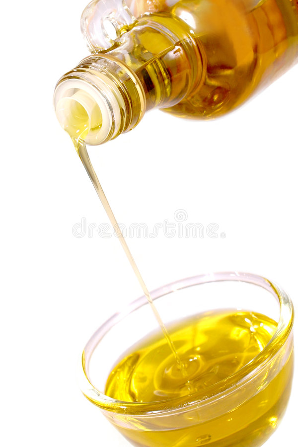 Olijfolie royalty-vrije stock afbeeldingen