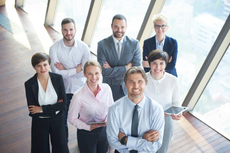 Olik grupp för affärsfolk arkivbild