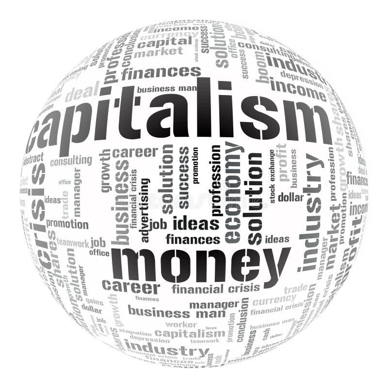 olika ekonomiska illustrationuttryck stock illustrationer