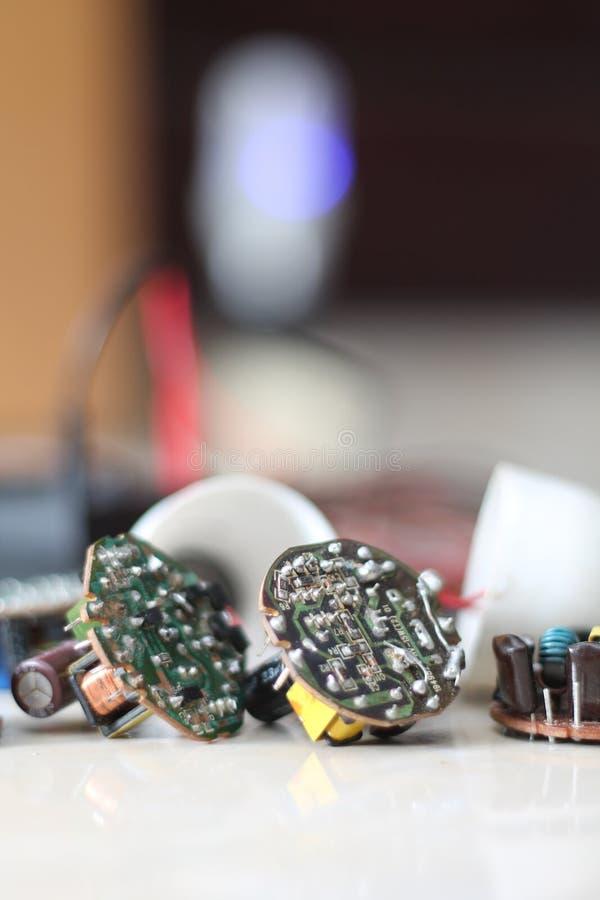Olika elektriska apparater, version 5 royaltyfri foto