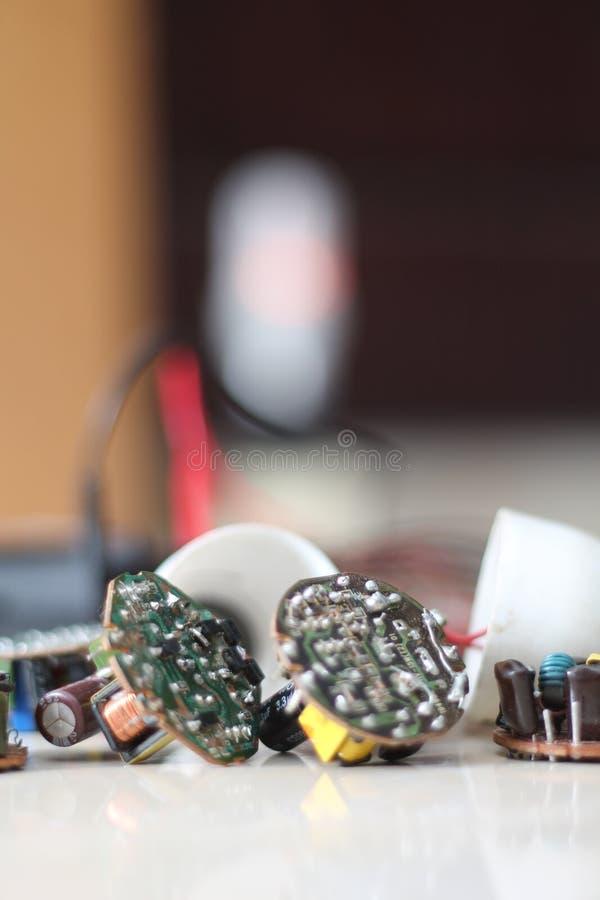 Olika elektriska apparater, version 7 arkivfoton