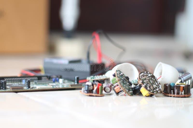 Olika elektriska apparater, version 8 royaltyfria bilder