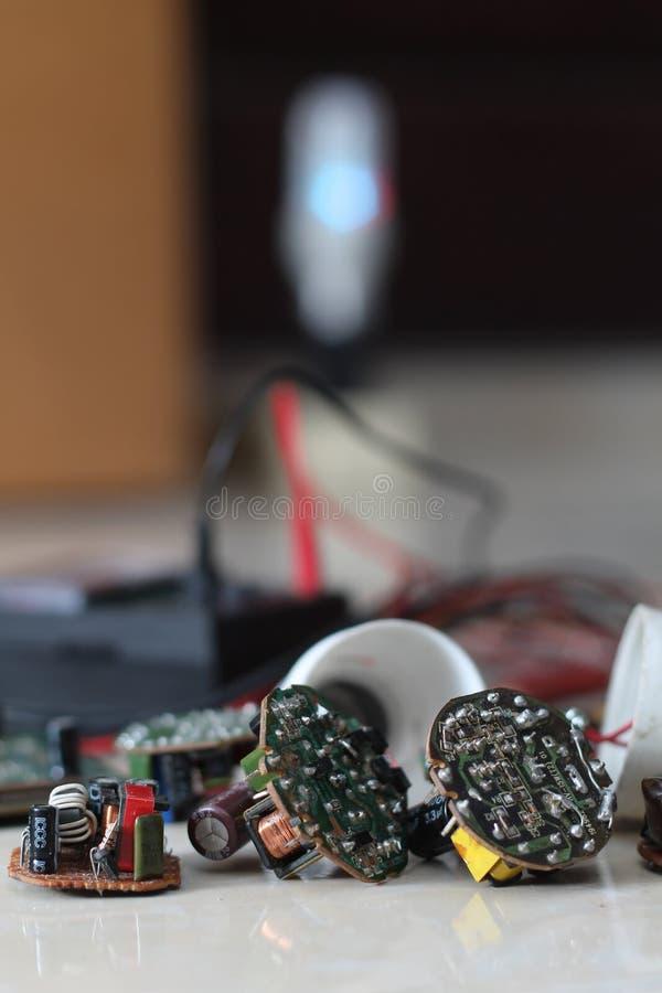 Olika elektriska apparater, version 9 royaltyfri bild