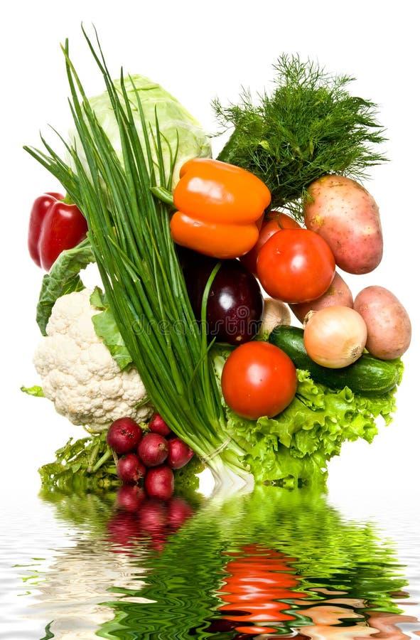 olika grönsaker arkivbilder