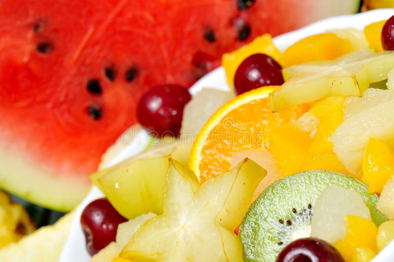 olika nya frukter arkivbilder