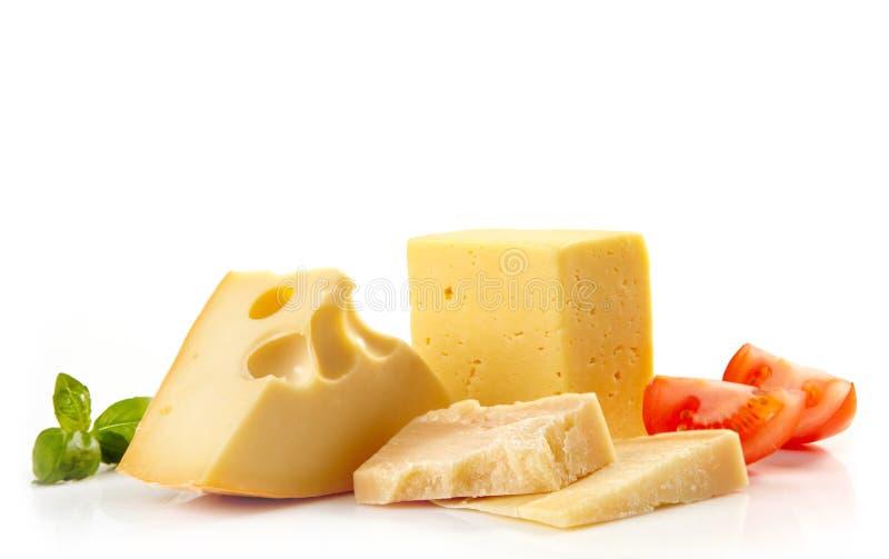 olika ostsorter royaltyfria foton