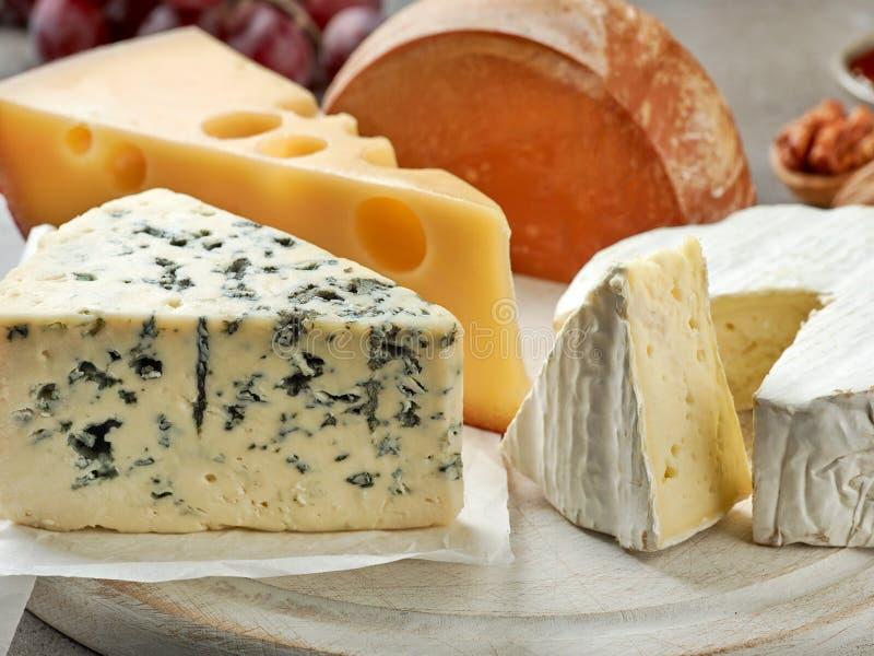 olika ostsorter royaltyfri bild