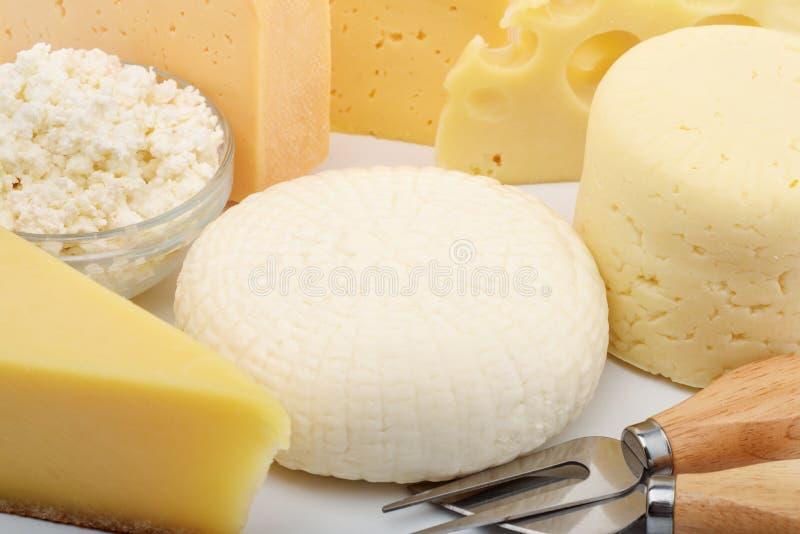 olika ostsorter royaltyfri foto