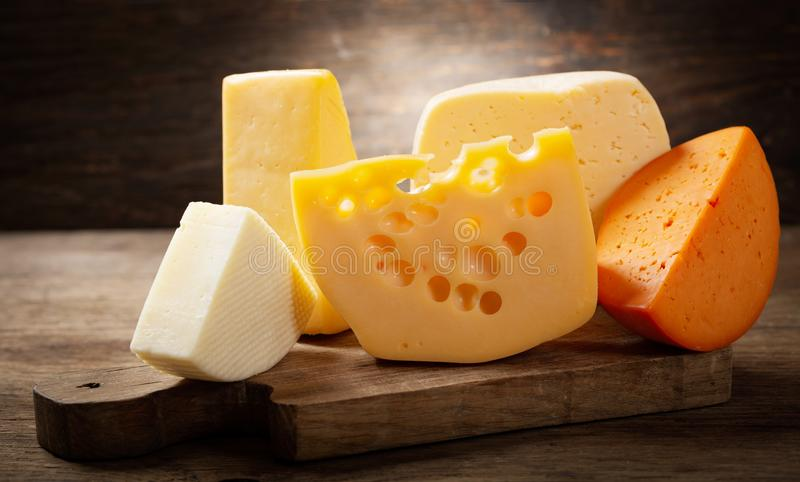 olika ostsorter fotografering för bildbyråer
