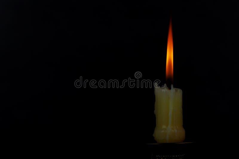 Olika ritualer för en ljus stearinljusljussammansättning royaltyfri fotografi