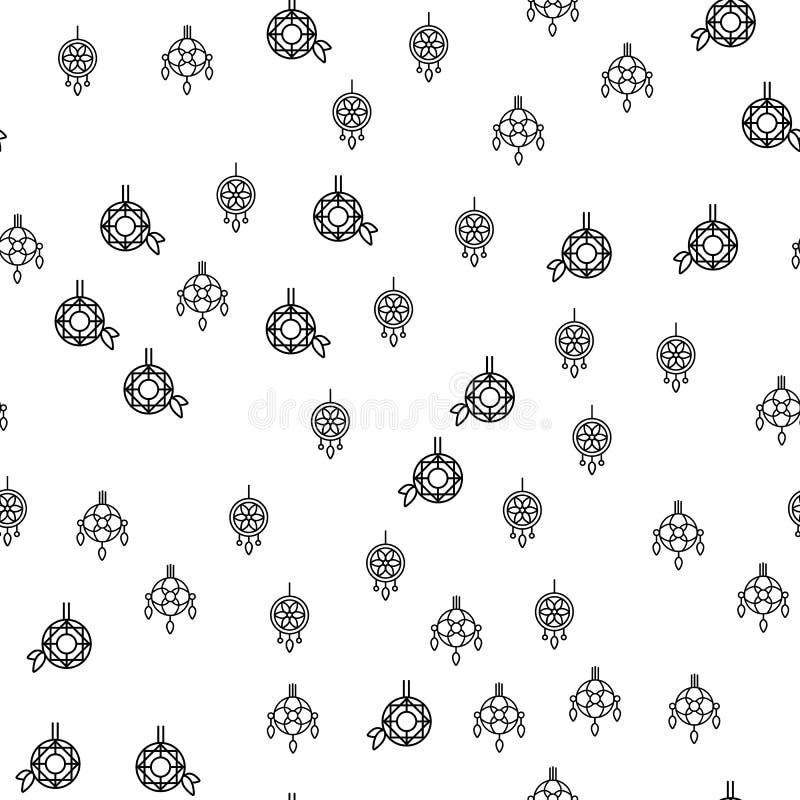 Olika smycken smyckar den sömlösa modellvektorn vektor illustrationer