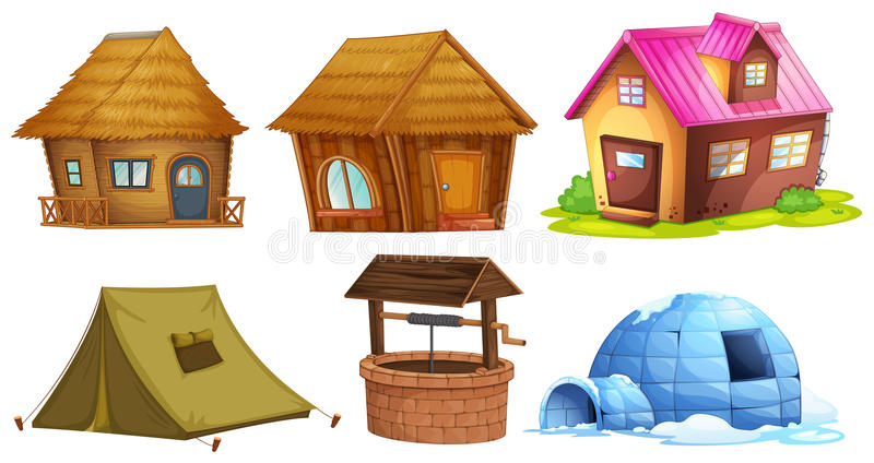Download Olika sorter av skydd vektor illustrationer. Illustration av livsstil - 78732349