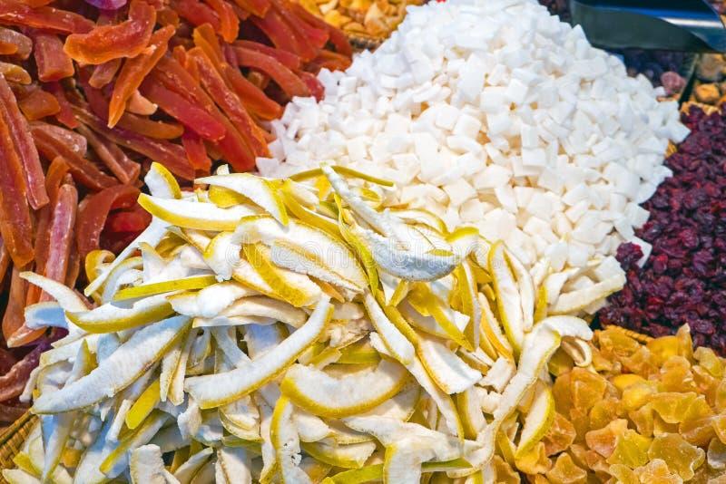 Download Olika Sorter Av Torkade Frukter Fotografering för Bildbyråer - Bild av papaya, katrinplommoner: 37345263