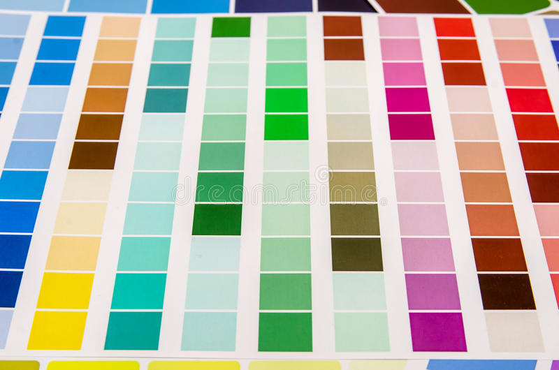 Olikt färga arkivbilder