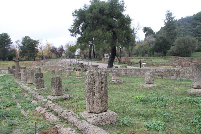 Olimpia, Greece, royalty free stock photo