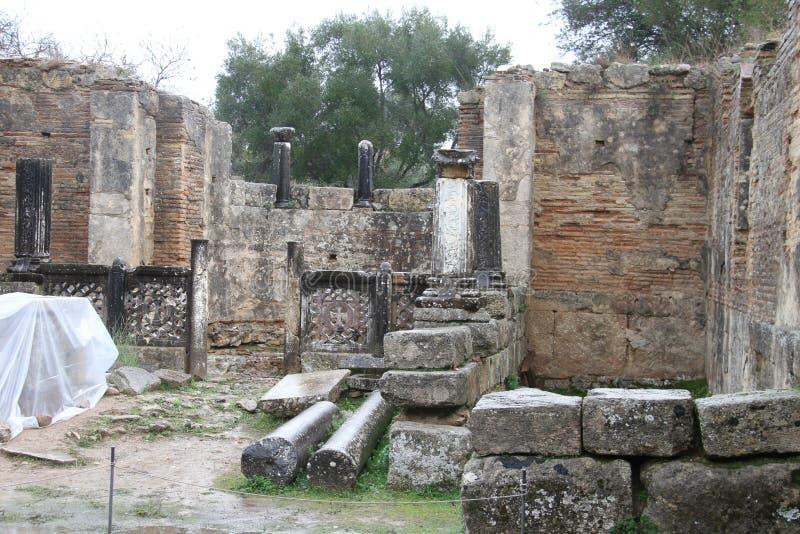Olimpia, Griechenland, stockbild