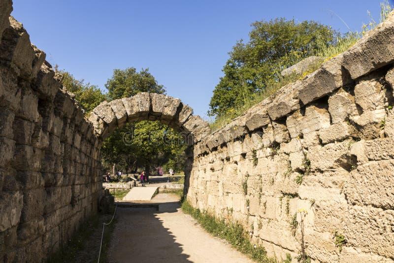 Olimpia stadium, Grecja obrazy stock