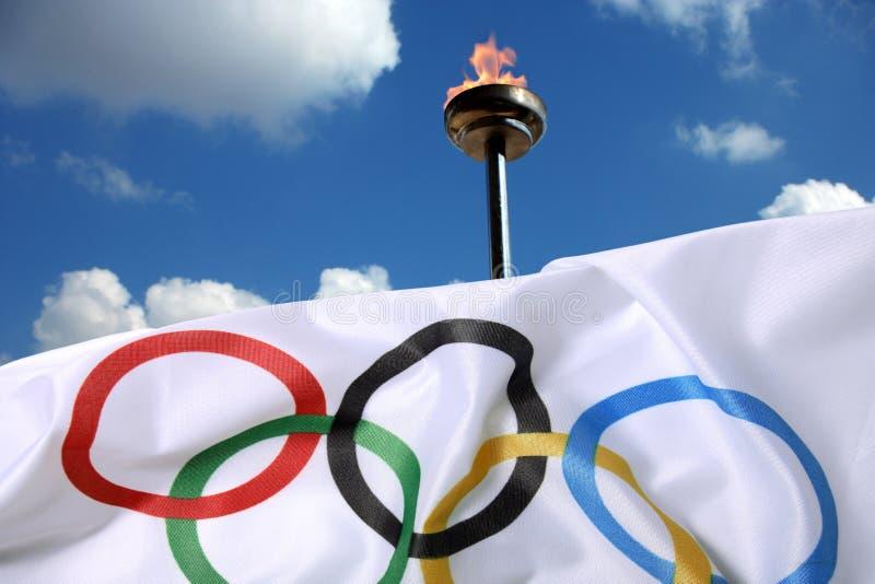 Olimpiadas imagenes de archivo