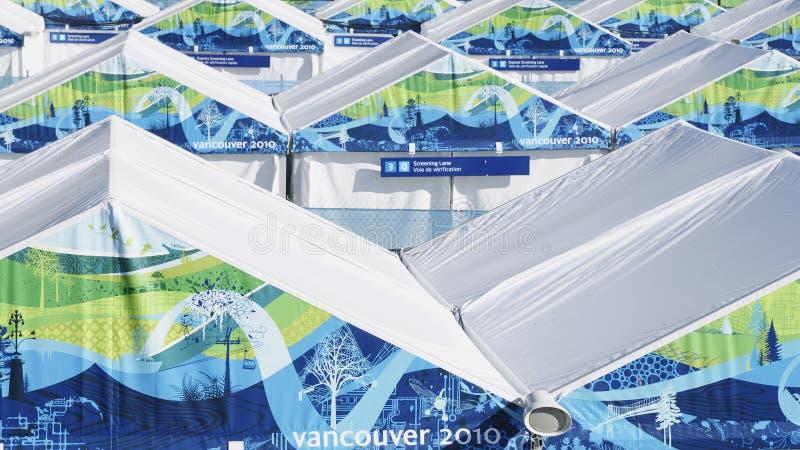 olimpiady ochrona Vancouver zdjęcia royalty free