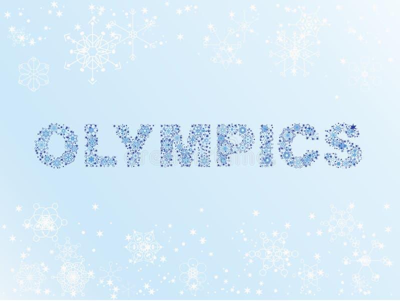Download Olimpiady snow zima ilustracja wektor. Obraz złożonej z miecielica - 12816938